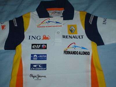 Official Fernando Alonso Collection Ladies Polo Shirt - XL - BNWT - Ideal Gift
