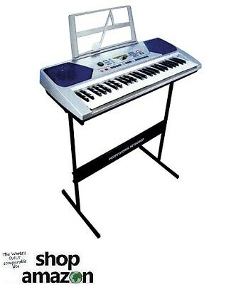 Professional Keyboard With Stand + Microphone 54 Key