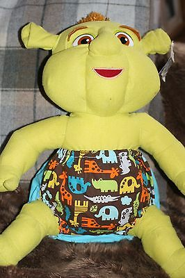 Handmade Diaper/nappy Cover Pants 12-24 Months (Unisex) Zoo Animals