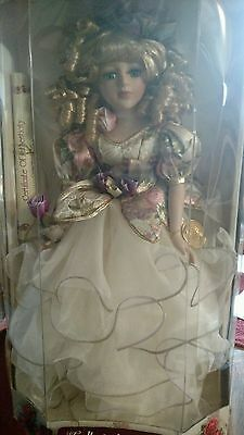Collector's Choice Genuine Fine Bisque Porcelain Doll limited edition