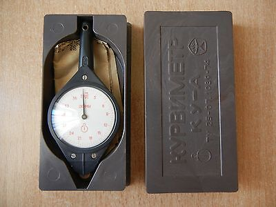 VINTAGE Small Opisometer or Curvimeter, Map Measuring Instrument Russia USSR BOX