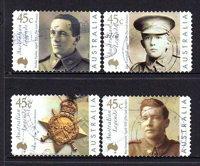 Australia 2000 Legends  Group Of 4 S/a Format Used 196