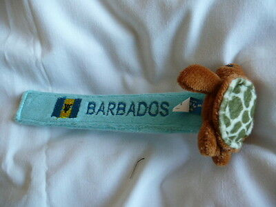 Turtle  Blue  Bookmark   (From Barbados)