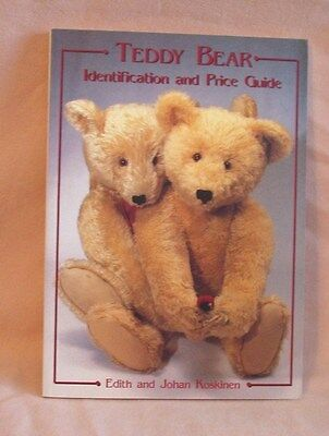 Book - Teddy Bear ID and Price Guide by Edith and Johan Koskinen
