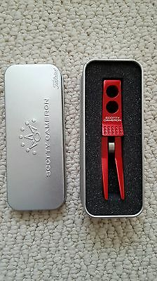 Scotty Cameron Roller Divot Tool In  Race Car Red - New In Tin