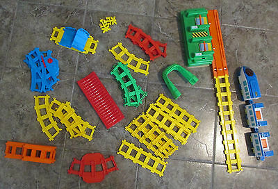 """Blue-Box """"All Aboard"""" Remote Control Toy Train Set Complete with Instructions"""