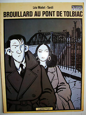 Brouillard Au Pont De Tolbiac Leo Malet Tardi Graphic Novel French Text