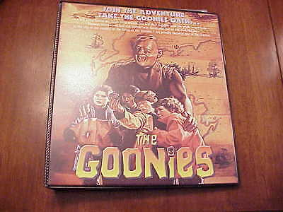 The Goonies Complete Trading Card Set Plus Binder free shipping