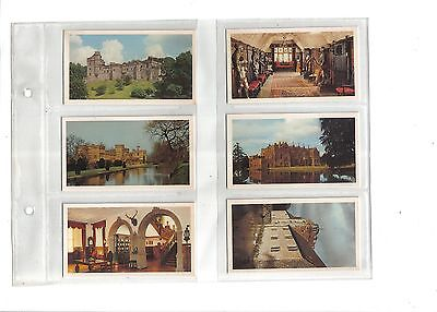 Player's Doncella Country Houses & Castles.Issued 1981.Full set of 32.