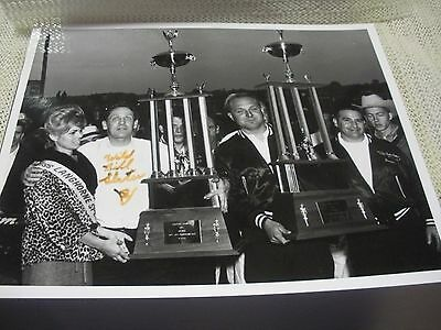 Wild Bill Slater Signed Win 8x10 Photo / Langhorne Raceway
