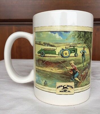 John Deere Houston Harvest Licensed Product Collectible Ceramic Cup Mug #31058