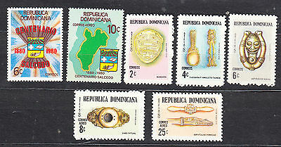 Dominican Republic Mint Never Hinged Selection