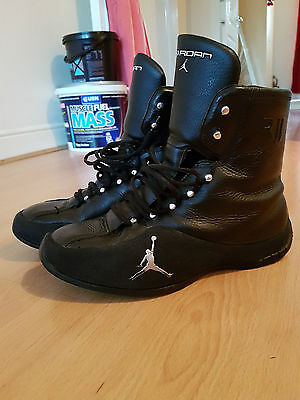 Jordan Boxing Boots RJJ Roy Jones Jr Size 8.5 UK (RARE)