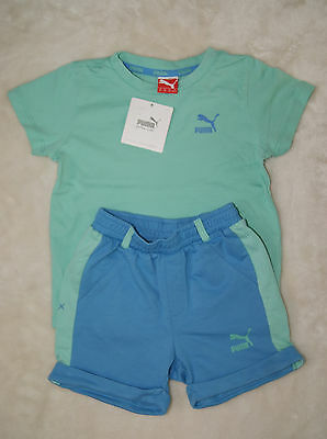 Puma BNWT Boys Shorts & T-Shirt 2 Pieces Set Age 2-3 Years