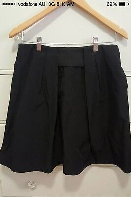 Cue Skirt (size 10) (Corporate, Flared, Work, Black)