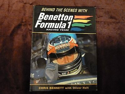 Behind the Scenes with Benetton Formula 1 Racing Team by Chris Bennett...