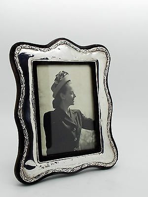 Keyword Frames Hallmarked Sterling Silver Photo or Picture Frame London 1985