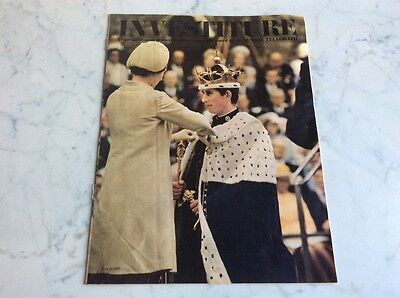 Vintage Investiture of Prince Charles Daily Telegraph Colour Magazine