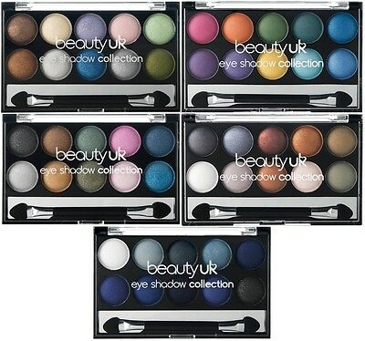 Beauty UK Eyeshadow Palette Collection - Choose Yours - 10g - Sealed