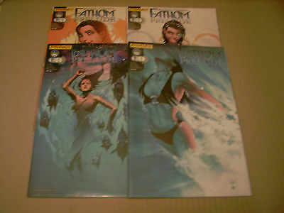 Fathom : Prelude  (Set Of 4 Variant #1 Covers)