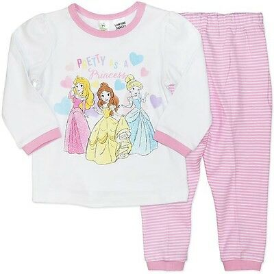 Disney Princess NWT Baby Girls Cotton Pyjamas (PJ's) - Licensed - FREE POSTAGE