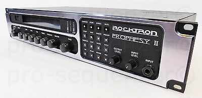 Rocktron Prophesy II 4Channel Tube Guitar Preamp Effects + Rechnung & Garantie