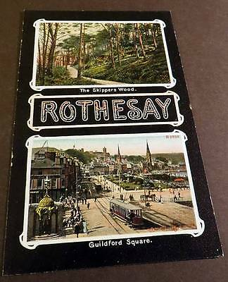 ROTHESAY c1905 Skippers Wood & Guildford Square
