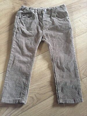 Boys Zara Cord Pants Age 2-3