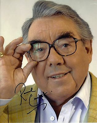 Ronnie Corbett, The Two Ronnies ,Genuine Hand Signed 10x8 Photo, Comes With COA
