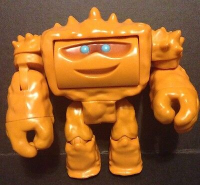 """Toy Story 3 Chunk Action Figure 5"""" Two Face Orange Muscular Rock Monster Disney"""