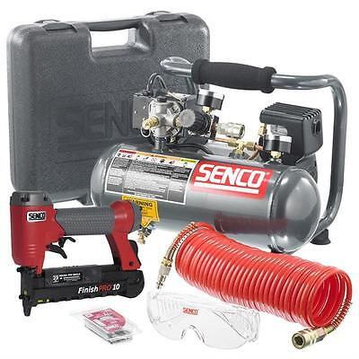 "Brand New SENCO 1"" MICRO PINNER AND PC1010 COMPRESSOR KIT - PC0974"