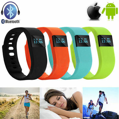 BLUETOOTH SMART tw64 BRACELET SPORT WATCH COMPTEUR CALORIES TRACKER PODOMÈTRE