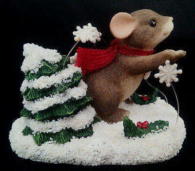 Charming Tails Winter Whirl-Wind 1999 Special Edition G&L Christmas Barn 87/114