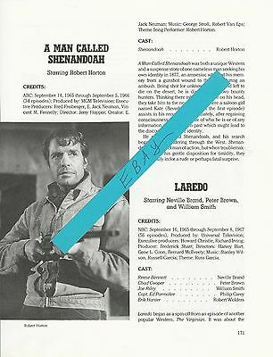 A Man Called Shenandoah Magazine Article Clipping Robert Horton