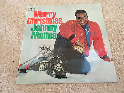 "Merry Christmas  Johnny Mathis  12"" Lp"
