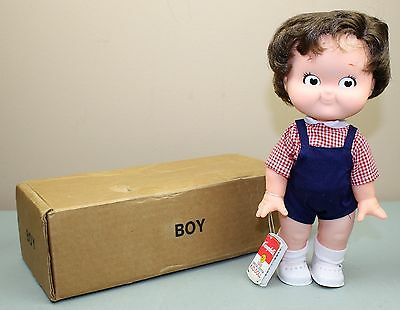 Vintage Campbell's Soup Boy Kids Doll Mint in Box with Tag 1988 Edition