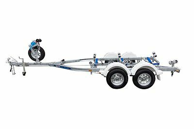 Nautica Boat Trailer NT-650 6.5M Tandem Galvanised drive on Boat Trailer