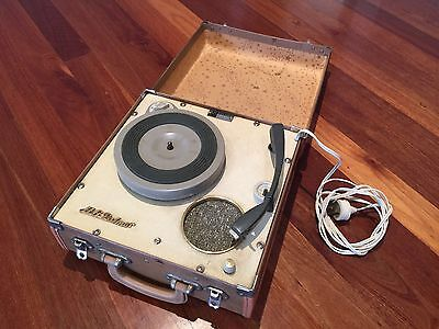 Vintage Portable 1960's Record Player Herbert George Palmer