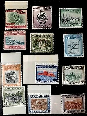 Columbia Stamp Sc644//660 MNH