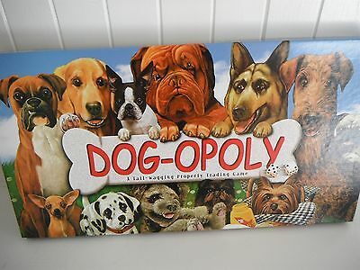 Dog-Opoly The Board Game - Monopoly For Dog Lovers VGC Looks Like New