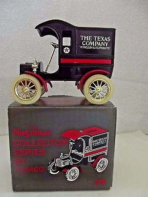 Texaco  The Nostalgic 1905 Ford Delivery Truck Series # 4 W/coin Bank