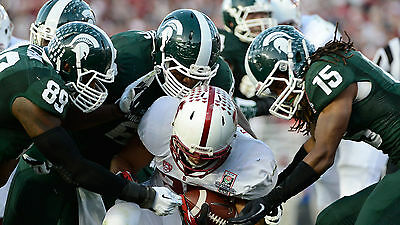 Football Coaching DVDs Michigan State Defensive Line and Linebacker Drills