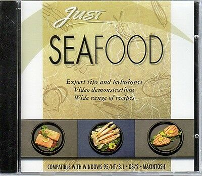 Just SEAFOOD CD-ROM for Win/OS2/Mac - NEW Sealed JC