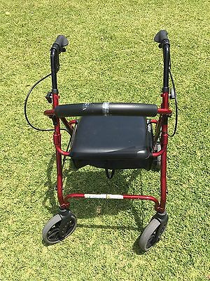 Mobility Walker With Basket, Care Quip (foldable)