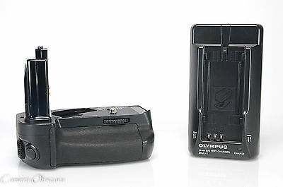 Olympus HLD-2 Power Battery Holder/Grip with BLL-1 Generic Battery & BCL-1, EXC+