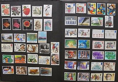 Great Britain - used stamps and all different Lot 1