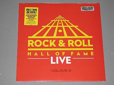 ROCK AND ROLL HALL OF FAME LIVE Vol. 3 180g LP (White & Black Vinyl) New Sealed