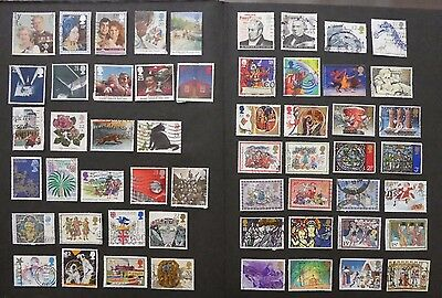 Great Britain - used stamps and all different Lot 10