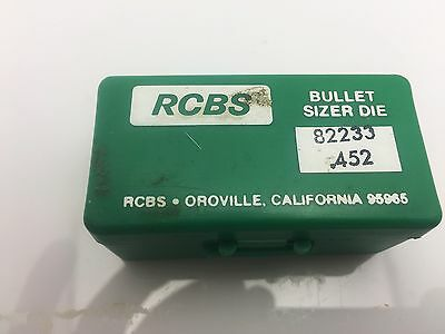 RCBS Lube-A-Matic Lube and Sizer Die 452 Diameter