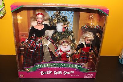 Holiday Sisters - Barbie Kelly Stacie Gift Set - 19809 - Special Edition - New